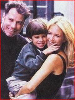 Семейное фото Траволты